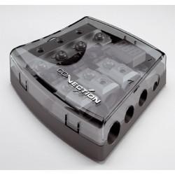 BFD 31 DGT distributore di corrente a 4 vie con volmetro Connection Audison