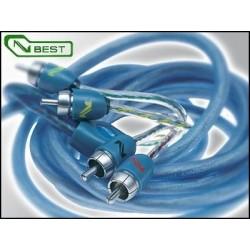 BT4 4 metri 4 canali RCA cavo Segnale Connection Audison 400 cm