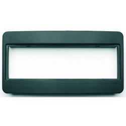 03276  Toyota  Adattatore autoradio Mascherina cornice con foro ISO colore nero