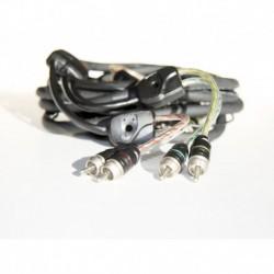BT4 2,5 metri 4 canali RCA cavo Segnale Connection Audison 250 cm