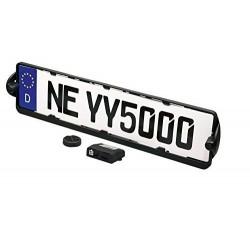 Porta targa 2 Sensori parcheggio posteriore EASY TARGA 2 MetaSystem