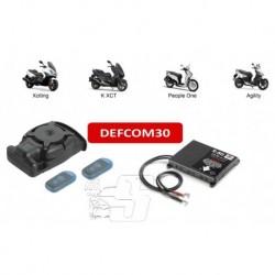 DEFCOM 30 KIMCO Moto Antifurto  SATELLITARE AUTOGESTITO MetaSystem Specifico Kimco PLUG & PLAY