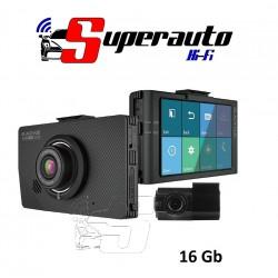 DR490L – 2CH 16 GB Dual LCD Dashcam Blackvue Fotocamera